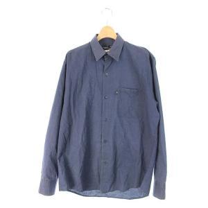 アニエスベーオム Agnes b. homme シャツ 長袖 38 紺 /HA メンズ【中古】【ベクトル 古着】