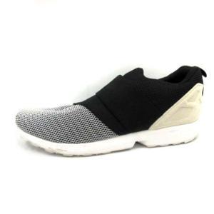 アディダス adidas シューズ スリッポン 2X FLUX SLIPON  28 黒 白 AF6338 /DT メンズ【中古】【ベクトル 古着】|vectorpremium