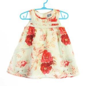 4b6ae16787b54 ベビーギャップ BABY GAP ベビー服 ワンピース チュニック 花柄 フラワー ノースリーブ レ.