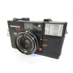 konica コニカ C35 フィルム コンパクト カメラ 黒 ブラック ジャンク品【中古】【ベクトル 古着】