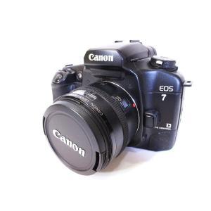 キヤノン Canon EOS 7 一眼レフ カメラ 黒 ブラック ジャンク扱い【中古】【ベクトル 古着】