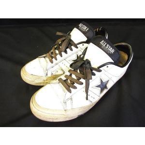 コンバース CONVERSE ALL STAR スニーカー ワンスター 8 1/2 白 ホワイト 日本製 メンズ【中古】【ベクトル 古着】|vectorpremium