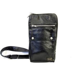 ポーター PORTER フリースタイル ショルダー バッグ 鞄 肩掛け 黒 ブラック メンズ 【中古】【ベクトル 古着】|vectorpremium