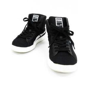 プーマ PUMA ボルトライト スニーカー ミッド 靴 26 黒 白 メンズ【中古】【ベクトル 古着】|vectorpremium