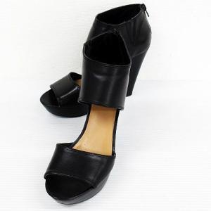 ナインウエスト NINE WEST サンダル ミュール パンプス 靴 ウェッジソール バックファスナ...