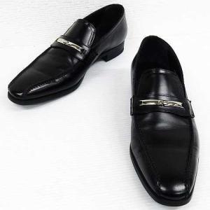 リーガル REGAL 2858 ビジネスシューズ ローファー  革靴 レザー 黒 26 メンズ【中古】【ベクトル 古着】 vectorpremium