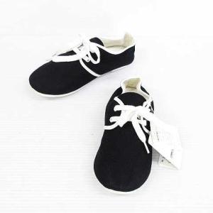 未使用品 コムサイズム COMME CA ISM スニーカー シューズ 靴 無地 布製 黒 20.0cm キッズ メンズ レディース【中古】【ベクトル 古着】|vectorpremium