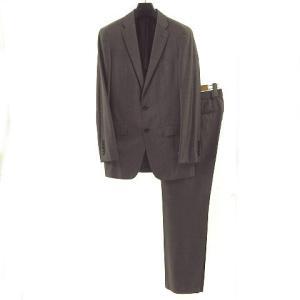 ceb9d3b1cf75 グッチ GUCCI スーツ セットアップ ジャケット テーラード タイト 2B シルク混 グレーブラウン 46 メンズ 【中古】【ベクトル 古着】