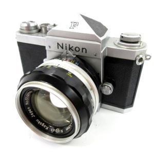 ニコン Nikon F アイレベル フィルムカメラ 670万台 NIKKOR 50mm レンズ シル...