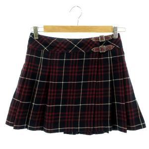 【中古】バーバリーブルーレーベル BURBERRY BLUE LABEL スカート プリーツスカート...