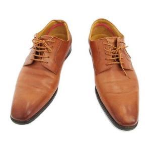 【中古】ポールスミス PS PAUL SMITH DANIEL レザー ドレス ビジネスシューズ ダーティ 革靴 5245 8 ブラウン メンズ/1 メンズ 【ベクトル 古着】|vectorpremium