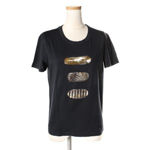 プラダ PRADA コットン スパンコール Tシャツ /☆t0508 レディース 【中古】【ベクトル 古着】|vectorpremium