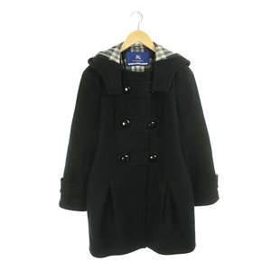 バーバリーブルーレーベル BURBERRY BLUE LABEL コート ミディアム丈 フード付き ...