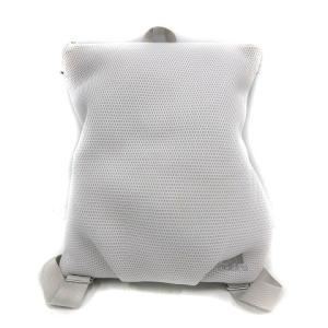 【中古】アディダス adidas バッグ リュックサック デイパック ロゴ 白 ホワイト /SR23...
