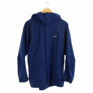 【中古】パタゴニア Patagonia ストームジャケット アウター ジップアップ フード M 青 /KN ■OS メンズ 【ベクトル 古着】|vectorpremium