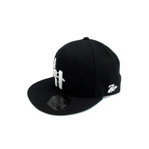 7UNION 7ユニオン 帽子 キャップ ソフト 刺繍 ウール混 F 黒 ブラック /NS36 メン...