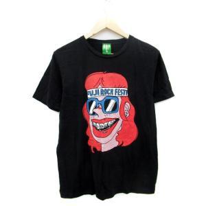 【中古】ビームス BEAMS FUJI ROCK FESTIVAL'11 Tシャツ カットソー 半袖...