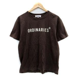 【中古】オールオーディナリーズ ALL ORDINARIES Tシャツ カットソー ラウンドネック ...