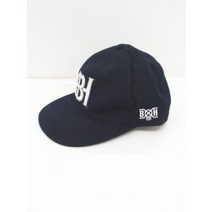 af13a38883d00 バウンティーハンター BOUNTY HUNTER 帽子 野球帽 キャップ ロゴ 刺繍 L 黒 白 ブ.