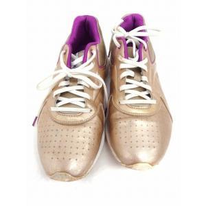 リーボック Reebok 靴 シューズ スニーカー イージートーン ゴーアウトサイド 6.5 ゴールド 金 /FT1 レディース【中古】【ベクトル 古着】|vectorpremium