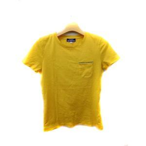 バーバリーブルーレーベル BURBERRY BLUE LABEL Tシャツ カットソー Uネック 半...