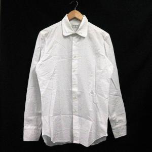 グジ guji ワイシャツ Yシャツ 長袖 カラーピン 40 白 /MF メンズ【中古】【ベクトル ...