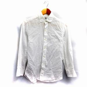 【中古】ユナイテッドアローズ UNITED ARROWS ワイシャツ Yシャツ 長袖 XS 白 /N...