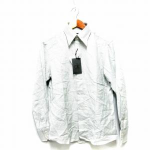 【中古】未使用品 シーケーカルバンクライン ck Calvin Klein ワイシャツ Yシャツ 長...