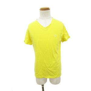 【中古】ジミーズチャーマー jimy's Charmer カットソー Tシャツ 半袖 スカル ドクロ M 黄 イエロー /☆o メンズ【ベクトル 古着】 vectorpremium