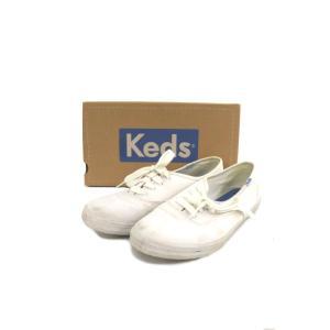 ケッズ Keds シューズ スニーカー ローカット キャンバス 7.5 白 ホワイト /MY31 レディース【中古】【ベクトル 古着】|vectorpremium