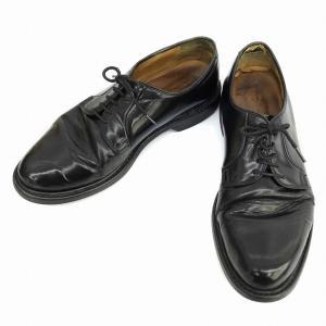 ジャランスリワヤ Jalan Sriwijaya 革靴 ビジネスシューズ プレーントゥ レザー 6.5 黒 ブラック 98348 1663 ☆K☆ メンズ【中古】【ベクトル 古着】|vectorpremium