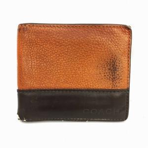 best website eef4e 4cfb9 コーチ 財布 メンズ 二つ折り 茶色の商品一覧 通販 - Yahoo ...