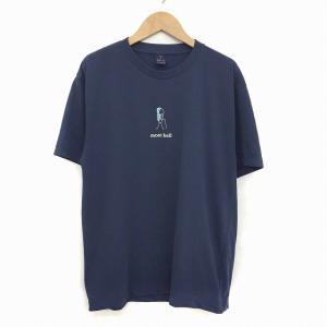モンベル Montbell Tシャツ 半袖 クルーネック S 紺 ネイビー KO メンズ 【中古】【ベクトル 古着】 vectorpremium