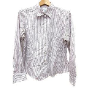 ブルックスブラザーズ BROOKS BROTHERS ワイシャツ Yシャツ ストライプ 長袖 14 ...