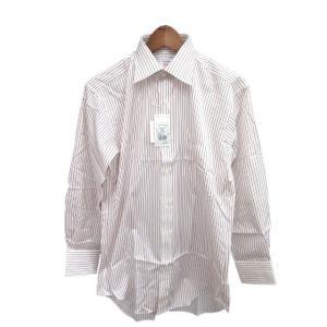 未使用品 シャツメーカーチョーヤ ShirtMakerChoya ワイシャツ Yシャツ 長袖 ストラ...