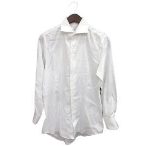 イタルスタイルシャツ ITALSTYLESHIRT ワイシャツ Yシャツ 長袖 39 白 ホワイト ...