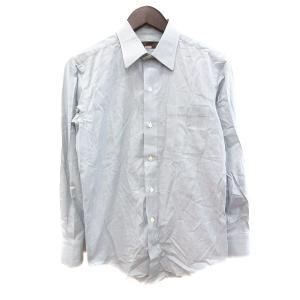 【中古】イヴサンローラン YVES SAINT LAURENT ワイシャツ Yシャツ 長袖 ストライ...