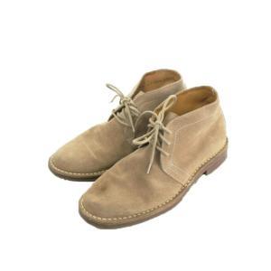 【中古】コールハーン COLE HAAN 靴 シューズ スエード 本革 シューレース 8 茶 ブラウン /EK13 メンズ 【ベクトル 古着】|vectorpremium