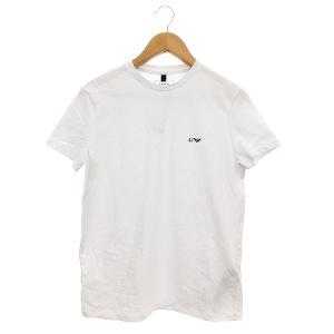 【中古】アルマーニ ジーンズ ARMANI JEANS Tシャツ カットソー 半袖 ワンポイント M...