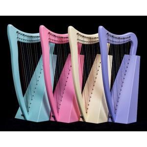 パステルハープ【ストラップ付き】15弦 ハープ vegamusic