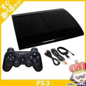 【ポイント5倍】PS3 プレステ3 PlayStation 3 250GB チャコール・ブラック (CECH-4000B) SONY ゲーム機 中古 すぐ遊べるセット|vegas-online