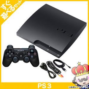【ポイント5倍】PS3 プレステ3 PlayStation 3 120GB チャコール・ブラック CECH-2100A SONY ゲーム機 すぐ遊べるセット 中古|vegas-online