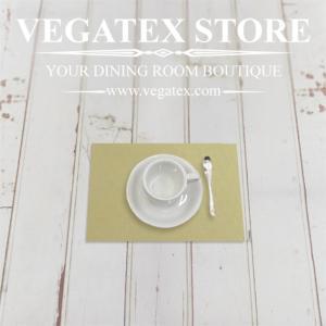 ランチョンマットのハーフサイズ ティーマット 撥水 シンプル 布 VEGATEX キャンバス アロエ|vegatex-store