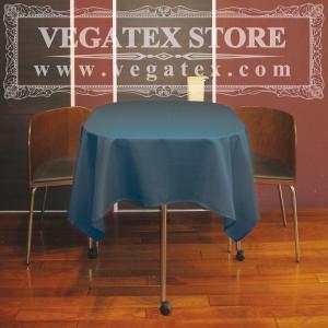 テーブルクロス 正方形 撥水 シンプル 布 VEGATEX キャンバス デニム<S>140×140cm|vegatex-store