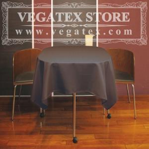 テーブルクロス 正方形 撥水 シンプル 布 VEGATEX キャンバス ブラックオリーブ<S>140×140cm|vegatex-store