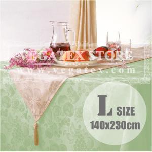 テーブルクロス 撥水 布 VEGATEX ハーベストホーム セージ<L>140×230cm vegatex-store