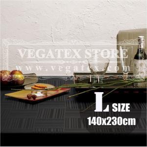 テーブルクロス 撥水 布 VEGATEX ジェイド ブラックインク<L>140×230cm vegatex-store
