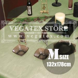 テーブルクロス ビニール おしゃれ VEGATEX モアレ セージ<M>132×178cm|vegatex-store