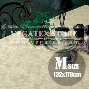 テーブルクロス ビニール おしゃれ VEGATEX グレープ アイボリー<M>132×178cm|vegatex-store