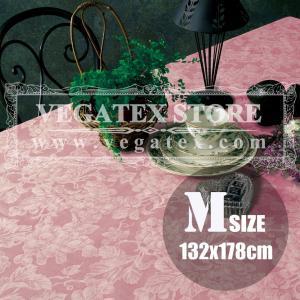 テーブルクロス ビニール おしゃれ VEGATEX グレープ サーモン<M>132×178cm|vegatex-store